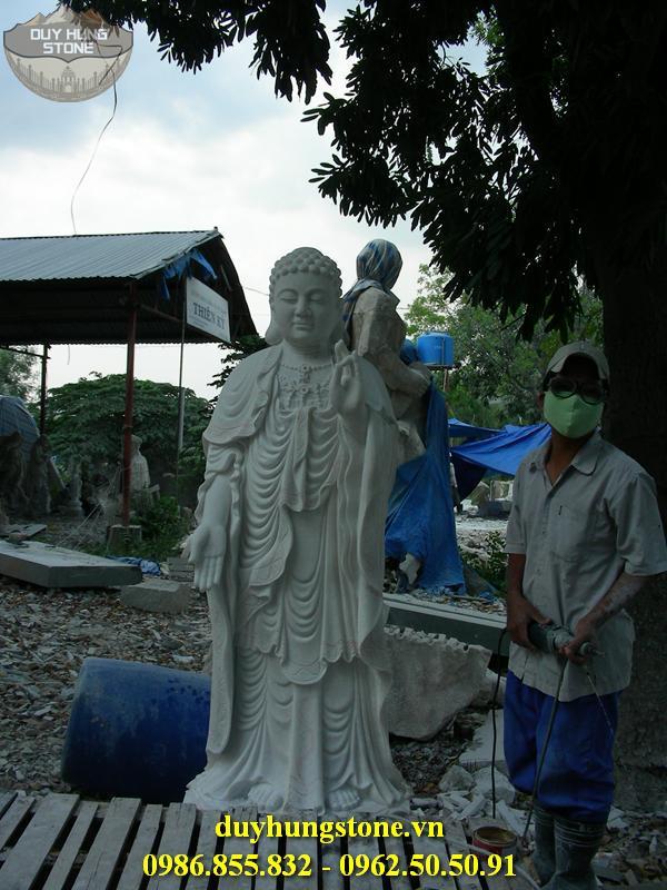 Tượng Phật A Di Đà bằng đá non nước đà nẵng 7