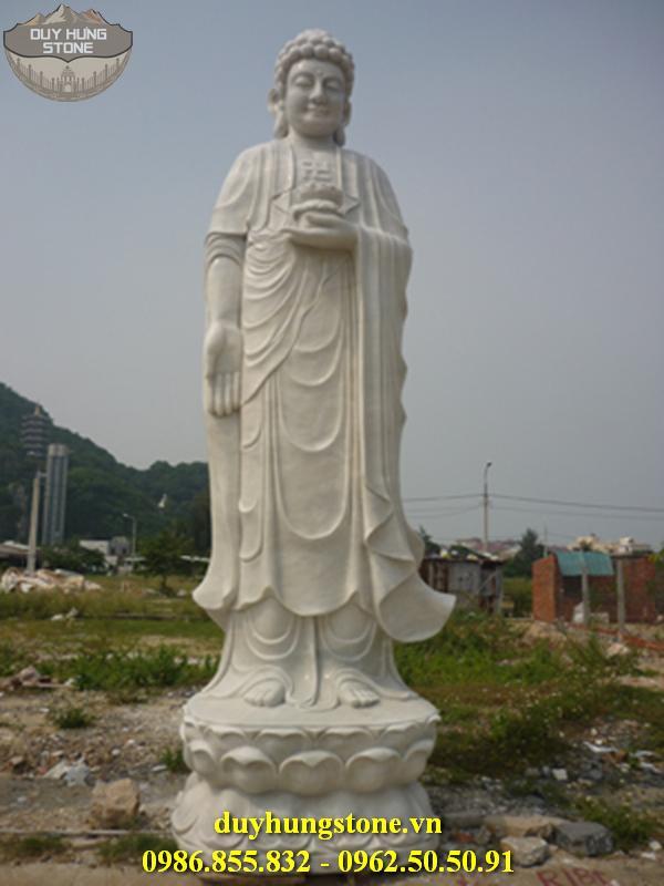 Tượng Phật A Di Đà bằng đá non nước đà nẵng 8