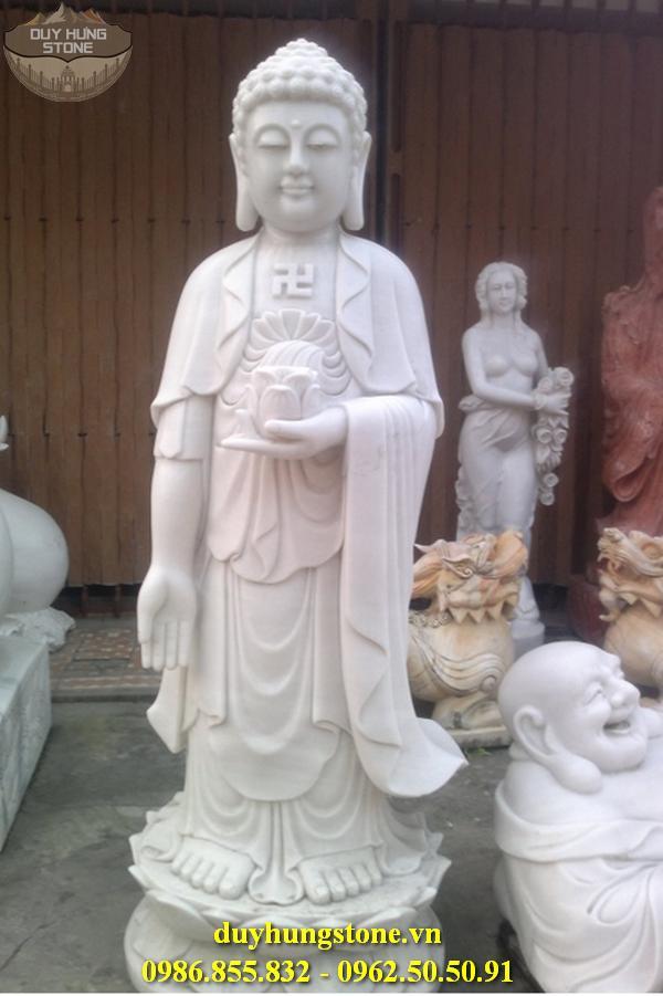 Tượng Phật A Di Đà bằng đá non nước đà nẵng 9