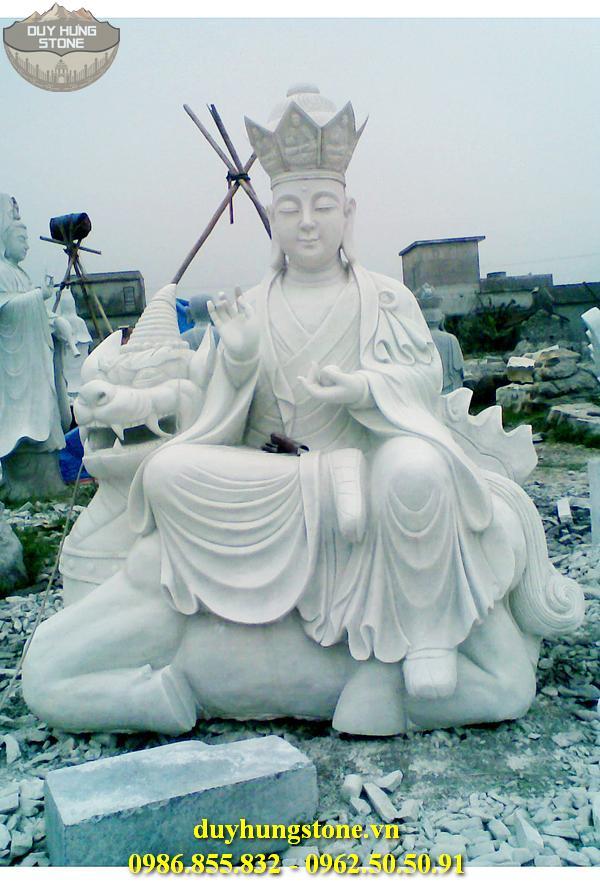 Tượng Phật Địa Tạng Bồ Tát bằng đá non nước đà nẵng nguyên khối 16