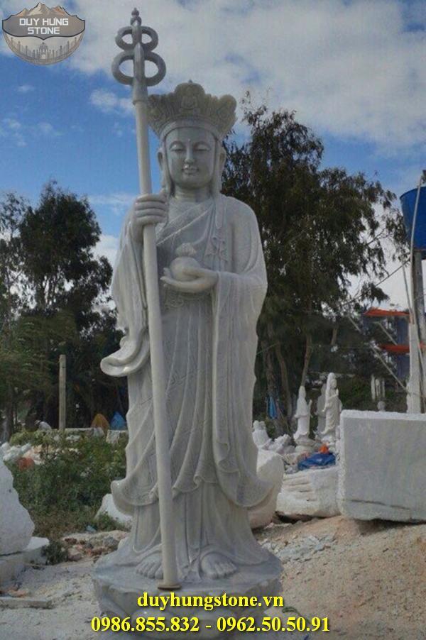 Tượng Phật Địa Tạng Bồ Tát bằng đá non nước đà nẵng nguyên khối 21