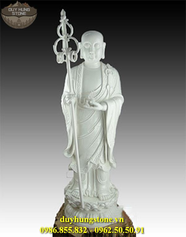 Tượng Phật Địa Tạng Bồ Tát bằng đá non nước đà nẵng nguyên khối 22