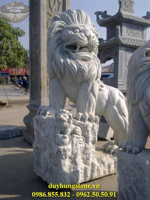 sư tử đá đẹp 12
