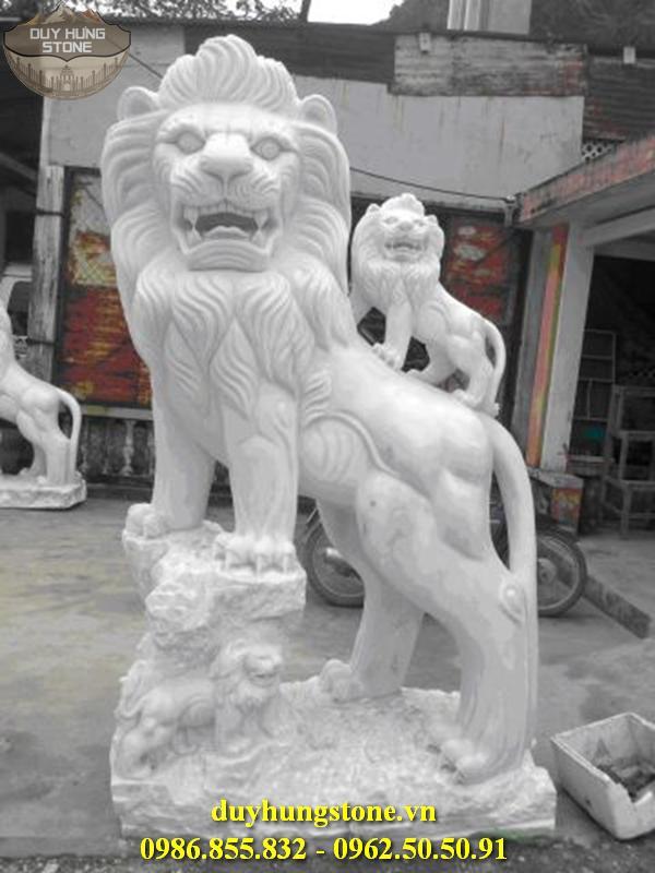 sư tử đá đẹp 33
