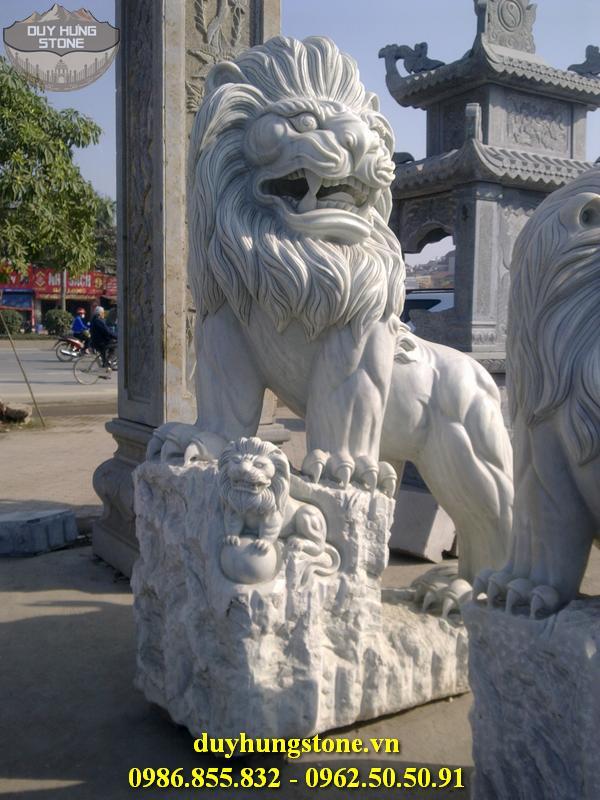 sư tử đá đẹp 38