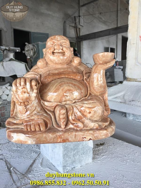 Tượng Phật Thần Tài bằng đá 1