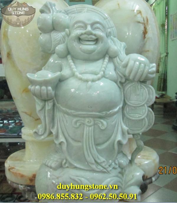 Tượng Phật Thần Tài bằng đá 11