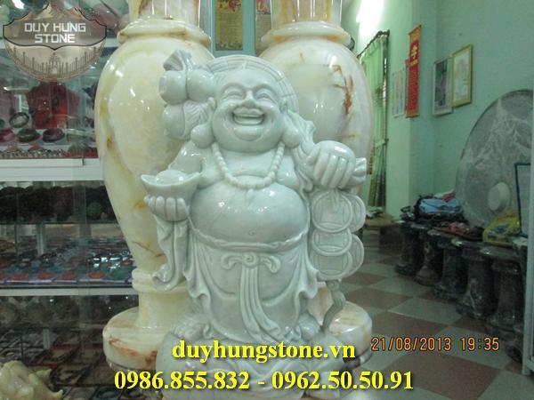 Tượng Phật Thần Tài bằng đá 14