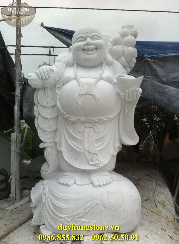 Tượng Phật Thần Tài bằng đá 20