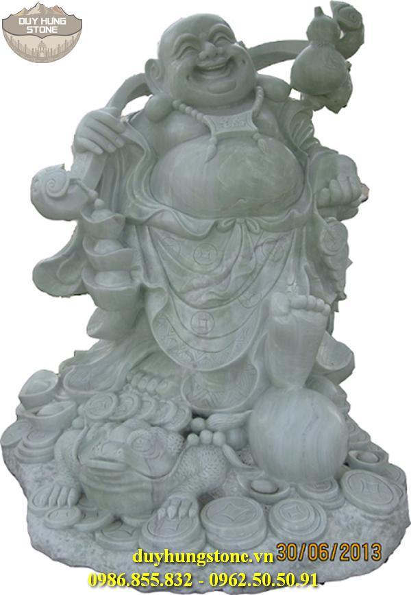 Tượng Phật Thần Tài bằng đá 33