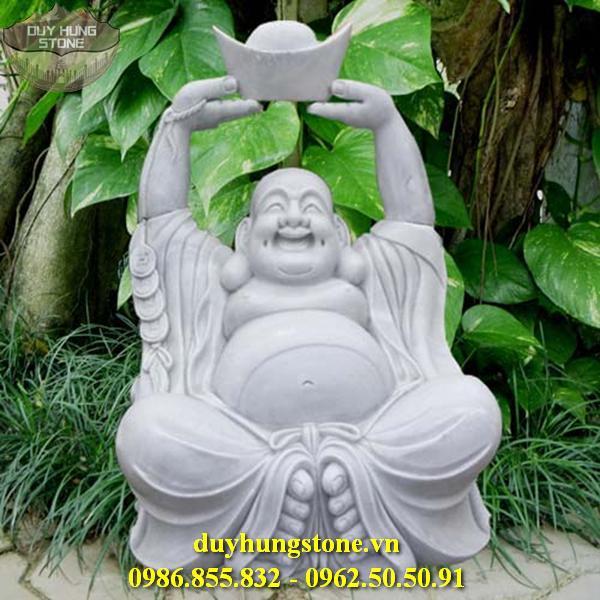 Tượng Phật Thần Tài bằng đá 4