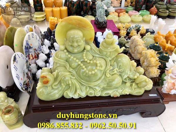 Tượng Phật Thần Tài bằng đá 40