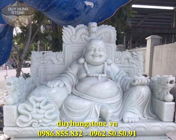 Tượng Phật Thần Tài bằng đá 41