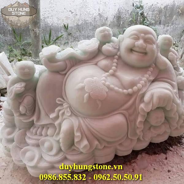 Tượng Phật Thần Tài bằng đá 43