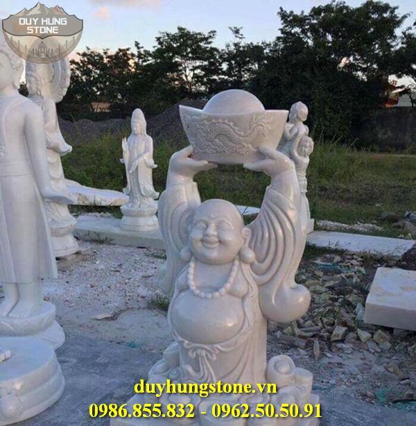 Tượng Phật Thần Tài bằng đá 7
