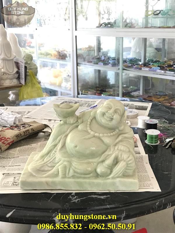 Tượng Phật Thần Tài bằng đá 8
