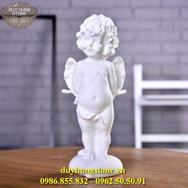 Tượng thiên thần bằng đá nguyên khối 12
