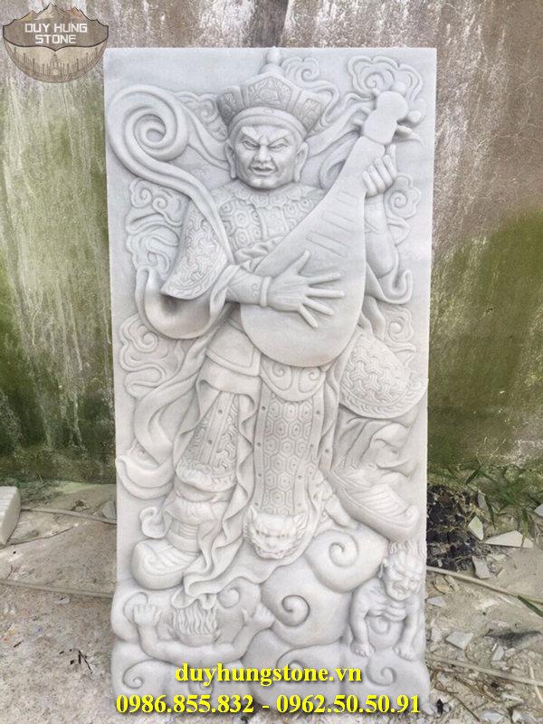 Tượng tứ đại thiên vương hộ pháp bằng đá nguyên khối 11