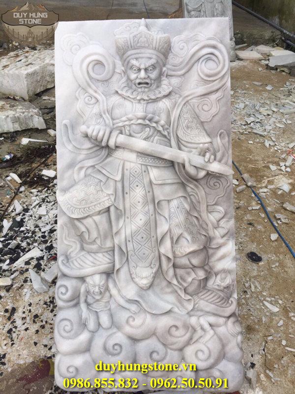 Tượng tứ đại thiên vương hộ pháp bằng đá nguyên khối 13